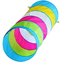 Kids 1.8m of Fun Play Tunnel, Indoor & Outdoor Peek-a-Boo Child Pop up Tunnel Toy, by Hide-n-Side