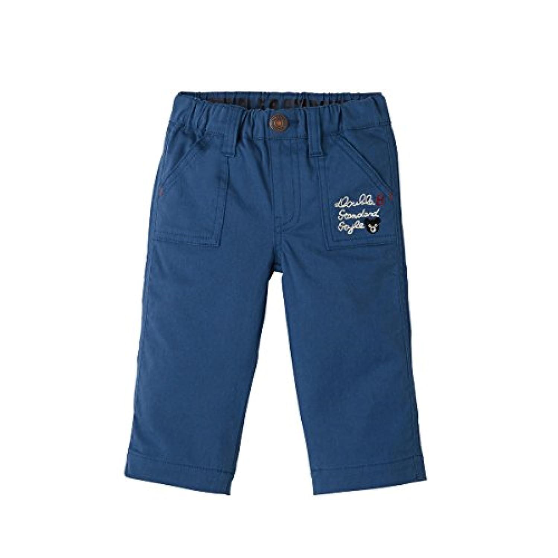 ミキハウス ダブルビー (MIKIHOUSE DOUBLE_B) パンツ 61-3201-261 100cm 紺