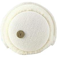 Chinashow Knitted Super Soft Folding Earmuffs Winter Earmuffs Ear Warmers,White