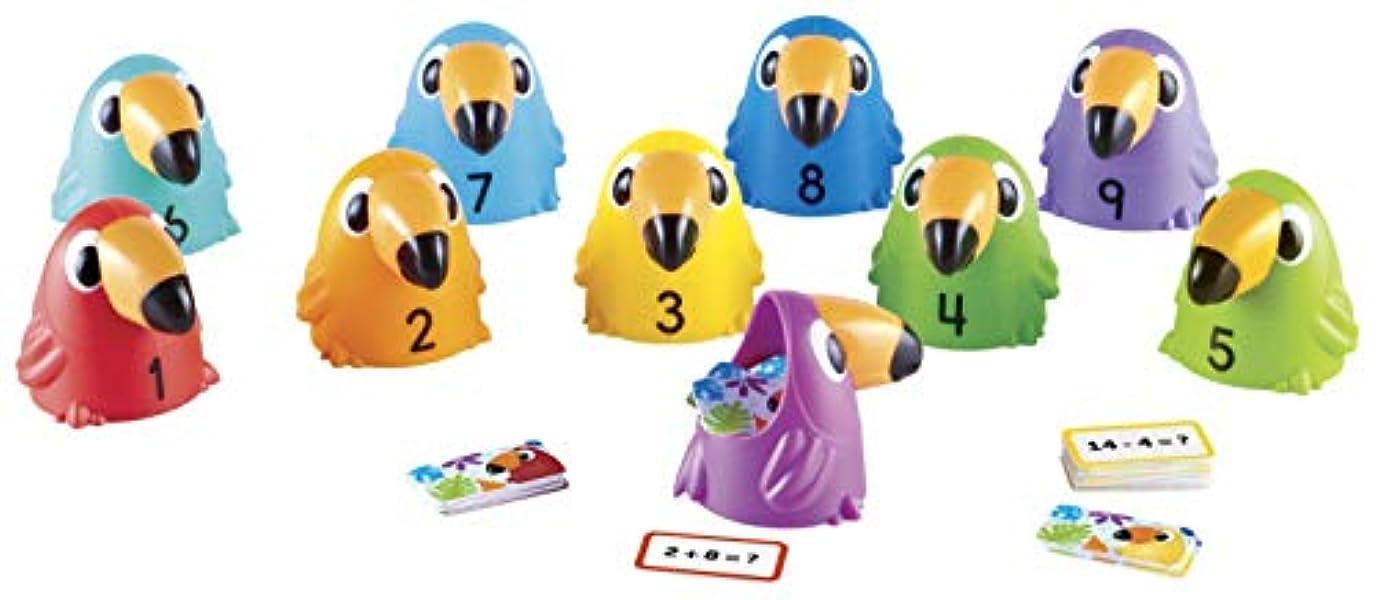 悪性アーサー前述のラーニングリソーシズ 算数ゲーム Toucans to Ten 計算カード LER5458 正規品
