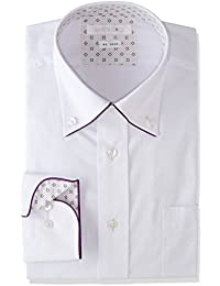 [タカキュー] Shirts Code 形態安定 レギュラーフィット ボタンダウンパイピングシャツ メンズ 110214619853833