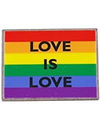 Love Is Love Gay Pride Rainbow Flagラペルピン