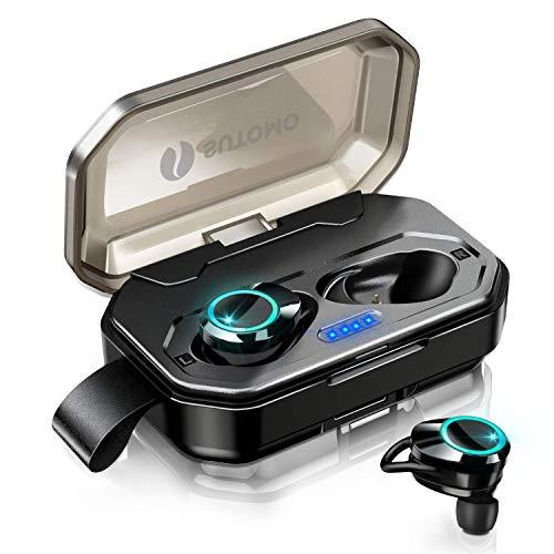 【2019最新版 Bluetooth 5.0 120時間連続駆動】 Bluetooth イヤホン IPX7完全防水 ワイヤレスイヤホン 両耳...