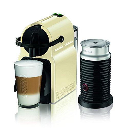 ネスプレッソ コーヒーメーカー イニッシア エアロチーノセット クリーム D40CW-A3B