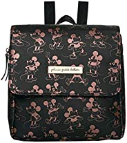 Petunia Pickle Bottom Mini Boxy Backpack, Metallic Mickey