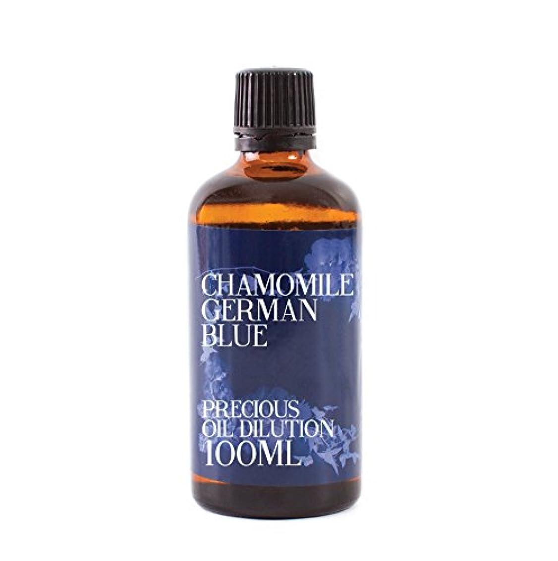 欺く火曜日独特のMystic Moments | Chamomile German Blue Essential Oil Dilution - 100ml - 3% Jojoba Blend
