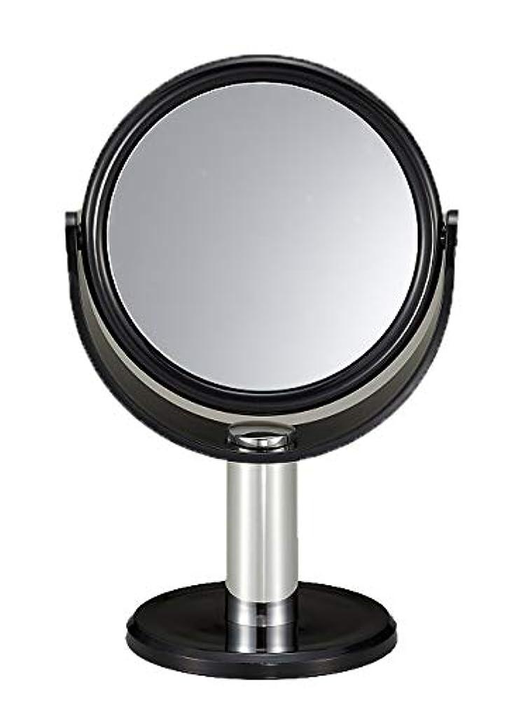 ダイヤルボイコットポジティブ10倍拡大鏡付き スタンドミラー