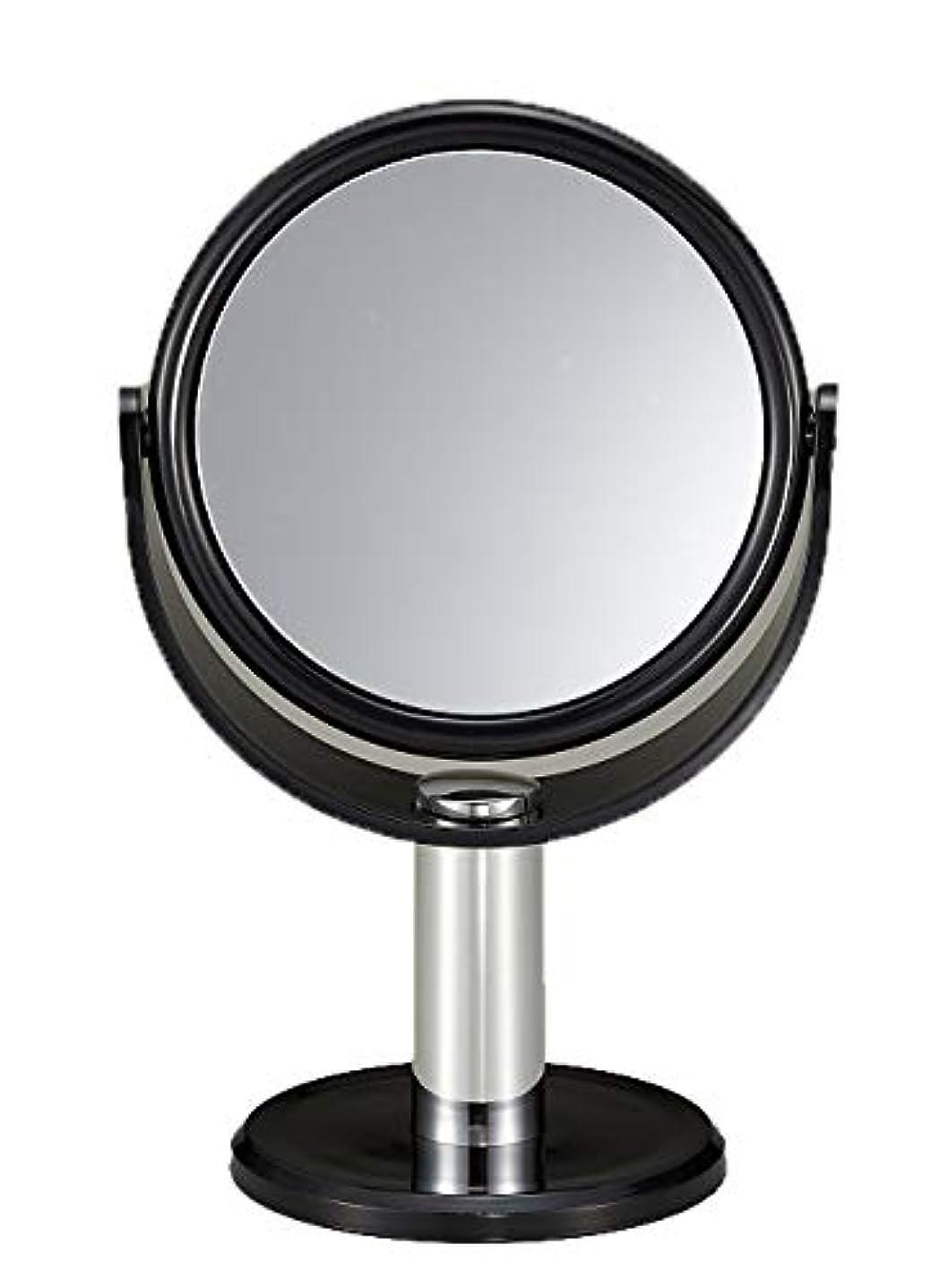 分岐するベルベット文化10倍拡大鏡付き スタンドミラー
