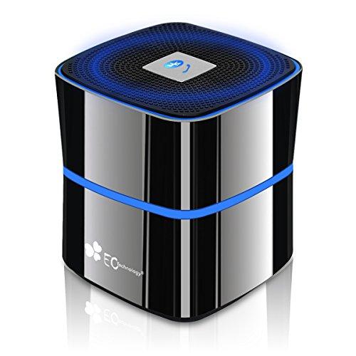 EC Technology Bluetooth4.0スピーカー ポータブルミニ 5W 省電力設計 ブラック
