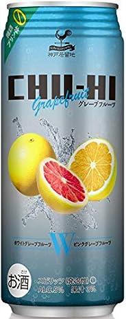 神戸居留地チューハイ グレープフルーツ 糖類ゼロ 缶 [ チューハイ 500mlx24本 ]
