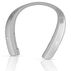 LG TONE Studio HBS-W120 ブルートゥース Wearable Personal Speaker (Titan Gray) [並行輸入品]