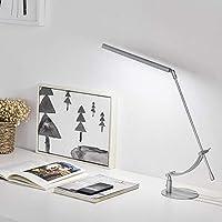 テーブルランプ, 目の保護付き, デスクランプ, ベッドルームランプ, テーブルの夜の光, ポータブル, LED, 本の光, リビングルームの寝室のデスクトップオフィス