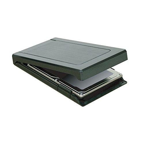 オウルテック USB3.0/SATA3.0対応 2.5インチ HDD/SSD用外付けHDDケース 1年保証 Windows10 UASP対応 Max5Gbps ガチャポンパッmini3.0 ブラック OWL-EGP25U3V3-BK