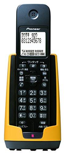 パイオニア Pioneer TF-FD15S デジタルコードレス電話機 親機のみ/迷惑電話対策 イエロー TF-FD15S-Y  【国内正規品】