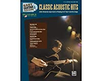 Alfred Easy Guitar Play-Along: Classic Acoustic Hits (Book/CD) アコースティックギター アコギ ギター (並行輸入)