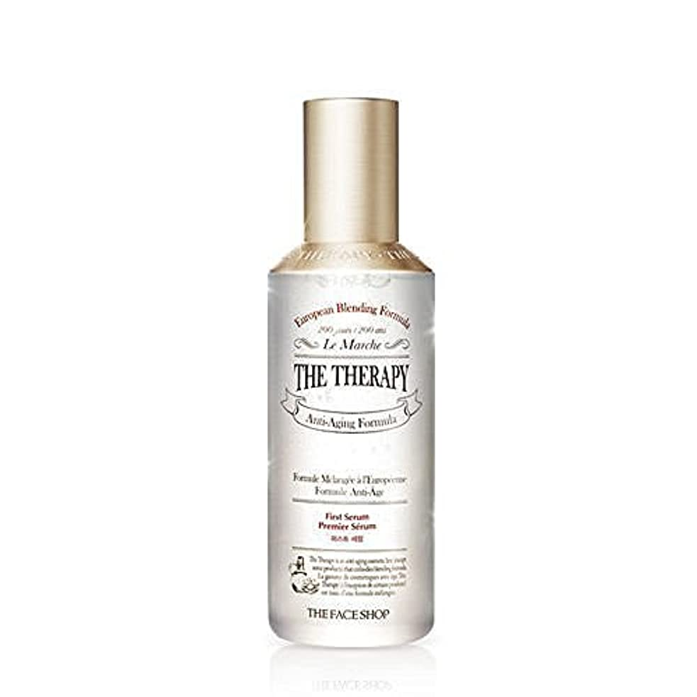 * THE FACE SHOP * THE Therapy First Serum 130ml [並行輸入品]