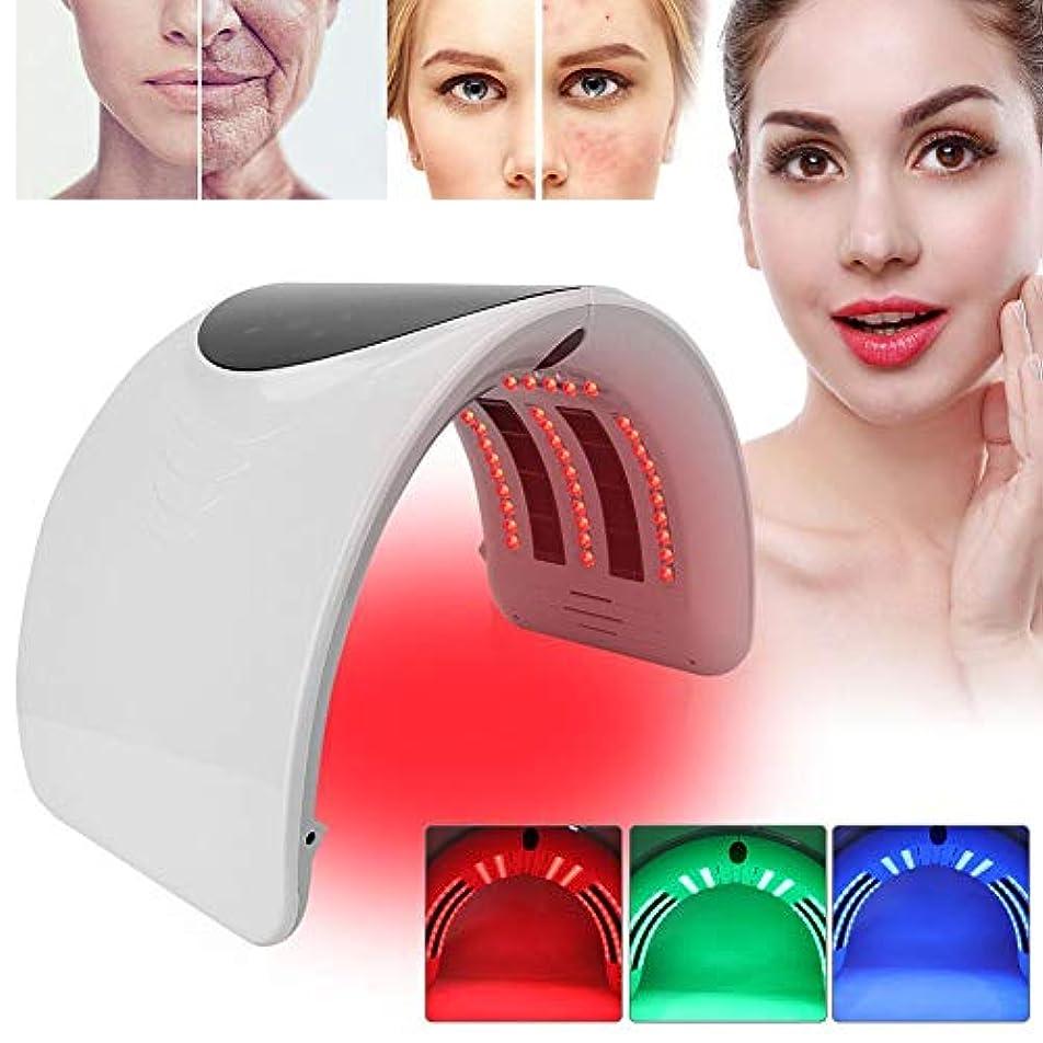公平なキリスト教シロクマPDTの軽い療法の美顔術機械、6色の新しい折り畳み式アクネの取り外しのスキンケアの処置機械(01)