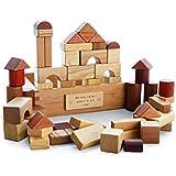 子供用大粒木製ブロック幼児教育用おもちゃ ( Color : マルチカラー まるちから゜ , Size : 33 blocks )
