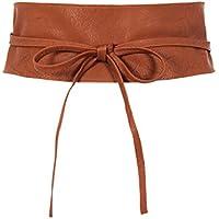 KRISP Women Obi Belt Waist Band Self Knot Tie Up Cinch One Size Fits All