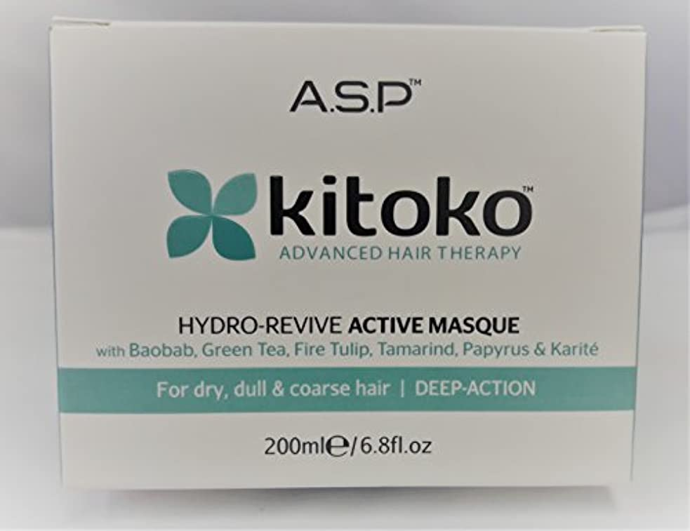 レパートリー忠実禁止Hydro-Revive by Kitoko Active Masque 200ml by Kitoko