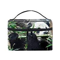 摂食パンダメイクボックス コスメ収納 トラベルバッグ 化粧 バッグ 高品質