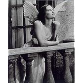 ブロマイド写真★『ロミオ+ジュリエット』クレア・デーンズ/白黒/天使の衣装