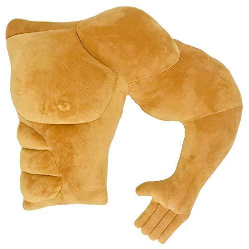 筋肉男の腕枕 抱き枕 クッション マッチョ 心地よく プレゼント 眠れる 女性人気(左)