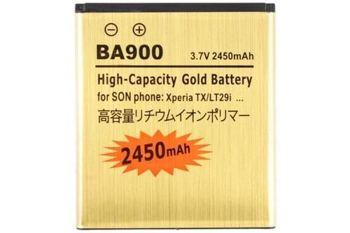 Xperia GX SO-04D 互換バッテリー BA900 2450mAh
