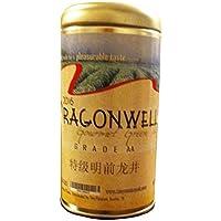 Dragonwell龙井、ロングJingグリーンティーリーフ、グレードAA、特级明前龙井年2017 2 oz