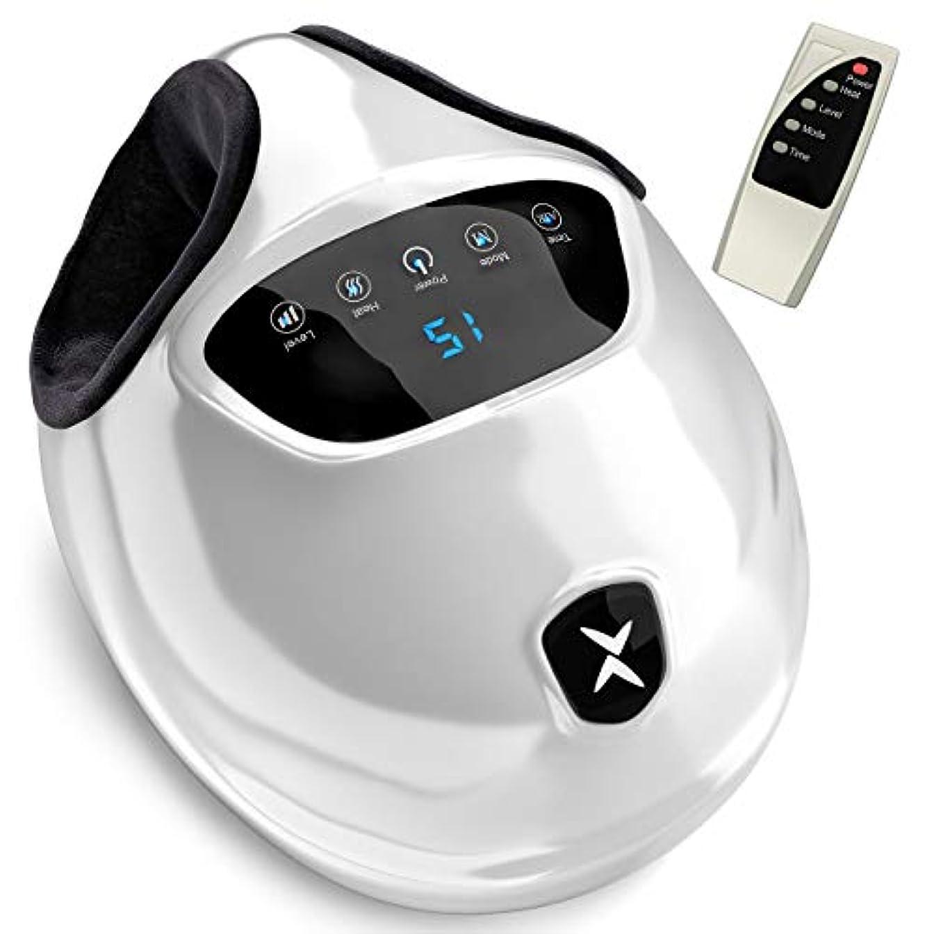 塊スポーツ九時四十五分[Realax ][Realax Shiatsu Foot Massager with Heat - Electric Feet Massager Machine with Deep Kneading Massage and...