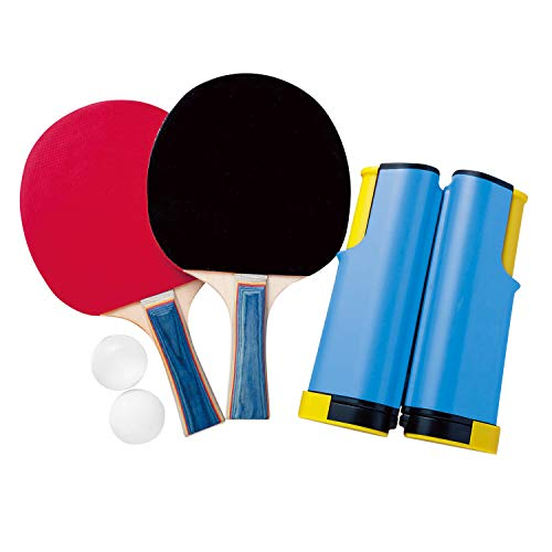 ファミリーピンポン 卓球セット テーブル 自宅 簡単設置 ラケット ネット