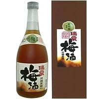 瑞泉 黒糖梅酒 12度 720ml