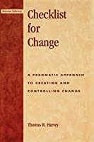 Checklist for Change (2nd Edition) (Scarecrow Education Book)