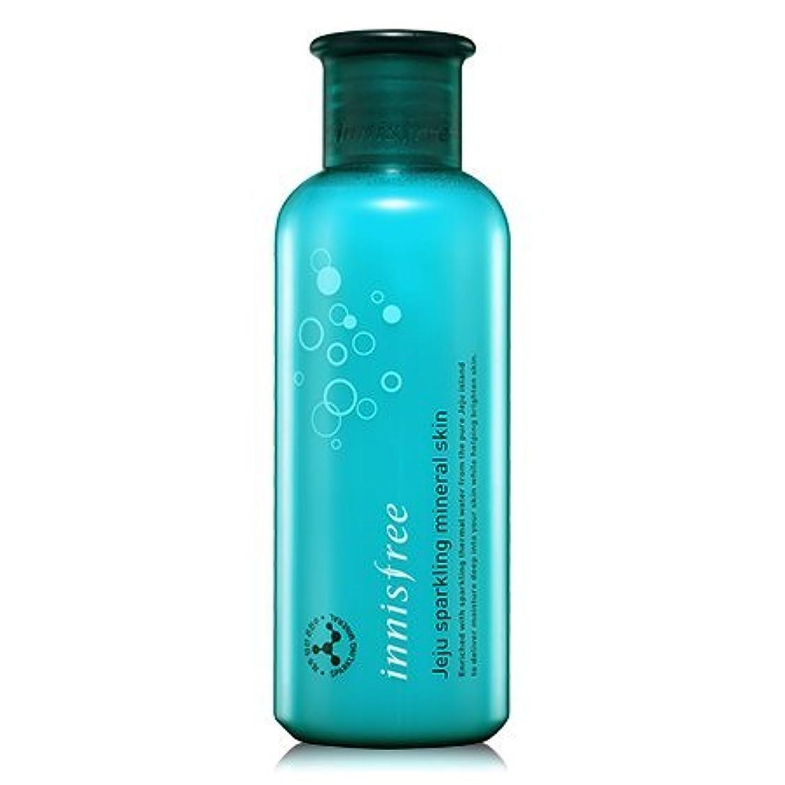 批判するバタフライ人質[innisfree(イニスフリー)] Jeju sparkling mineral skin (200ml) 済州 スパークリング ミネラル スキン [並行輸入品][海外直送品]