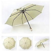 YXJJP メンズ 折りたたみ傘 雨傘 丈夫 耐風 高級感 耐久性 自動開け ビジネス 5色入 傘 (Color : 02グリーン, Size : フリー)