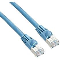 ナカバヤシ エンハンストカテゴリ5対応LANケーブル (シールド加工) ブルー 3m LTC-ESS03BL