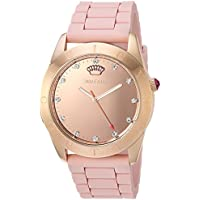 Juicy Couture Women's 'Couture Connect' Quartz and Silicone Smart Watch Color:Rose Gold-Toned (Model: 1901546)