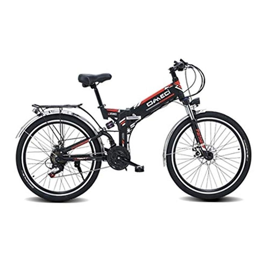 安定しましたテーブルを設定する写真撮影21速シマノ伝送システム、300W、10AH、48Vリチウムイオン電池、大人の電動自転車とEbike自転車マウンテン折りたたみ電動自転車/Ebike通勤