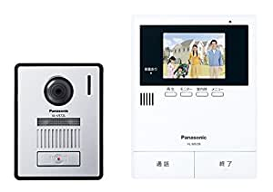 パナソニック(Panasonic) テレビドアホン2-2タイプ モニター親機 カメラ玄関子機セット VL-SV39KL