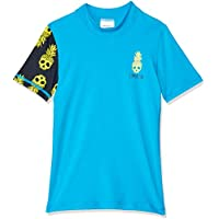 Speedo Boys' ICON LOGO SHORT SLEEVE RASHIE