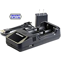 KEEPPOWER 純正 L2 Plus LCD リチウムイオンバッテリー 2A USB 高速充電器 (充電器単体)