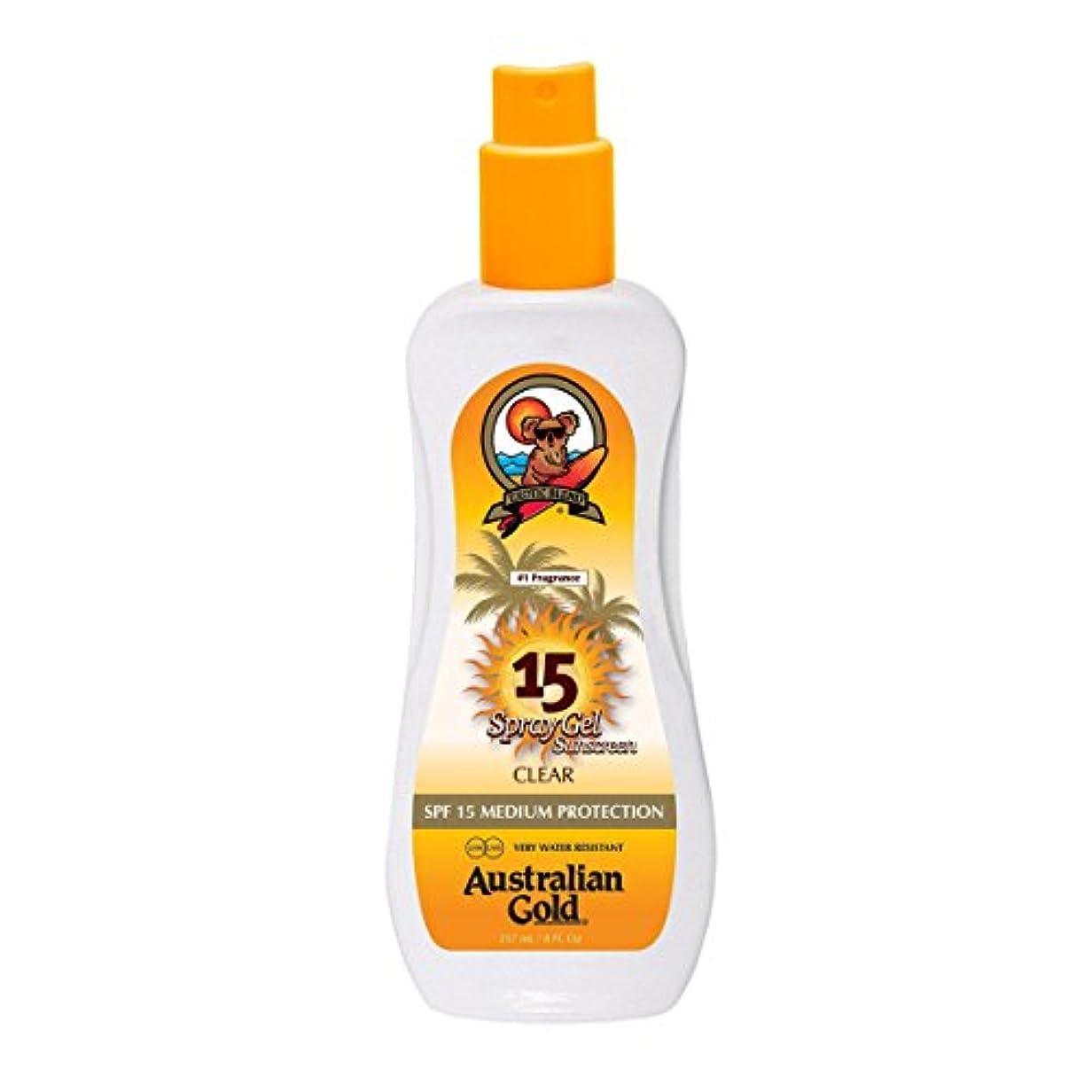 北西バイオリンリフトAustralian Gold Spray Gel Spf15 237ml [並行輸入品]