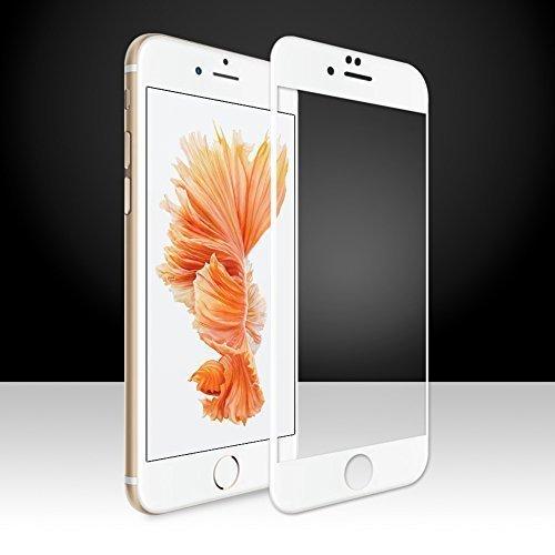 SUPTMAX iPhone 6s Plus 対応 iPhone 6s Plus フィルム iPhone 6 Plus 保護フィルム 3D Touch 対応 0.26mm 2.5D 9H 強化ガラス 耐衝撃 自動吸着 99% 高透過率 気泡ゼロ iPhone 6s Plus 保護フィルム 全面 ( ホワイト)