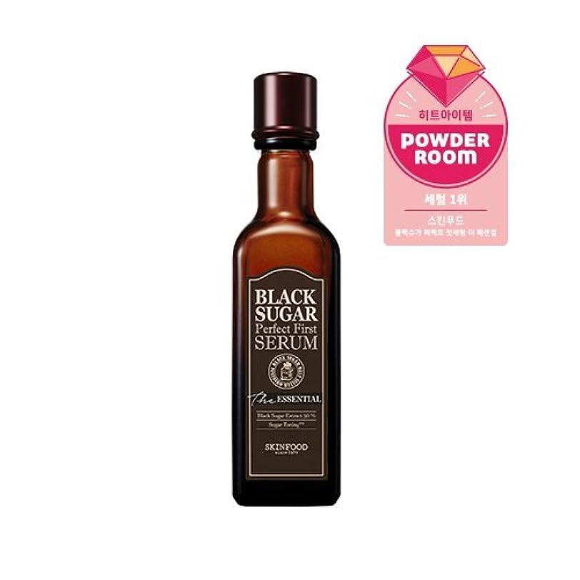 有名な電気的ゲートSkinfood black sugar perfect first serum the essential/黒糖完璧な最初の血清必須/120ml +60ea [並行輸入品]