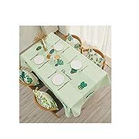 テーブルクロス、プリントテーブルクロス。ホーム用品サイズ:36×36インチ、44×44インチ、68×44インチ、56×40インチ、56×56インチ、72×56インチ、80×56インチ、92×56インチ。カラー:グリーン (Color : ピンク, Size : 56*40 inch)