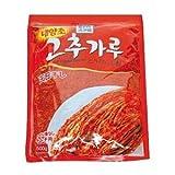 チョンジョンウォン・キムチ用唐辛子粉 韓国食品 天日干しした高品質の唐辛子のみを厳選・キムチ用に加工された唐辛子粉 500g