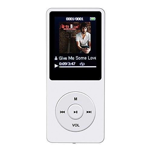 [해외]AGPtEK A02 음악 재생이라면 최대 70 시간의 무손실 사운드 MP3 플레이어 (용량 8GB) (화이트)/AGPtEK A02 Up to 70 hours of lossless sound MP3 player (capacity 8GB) (white)