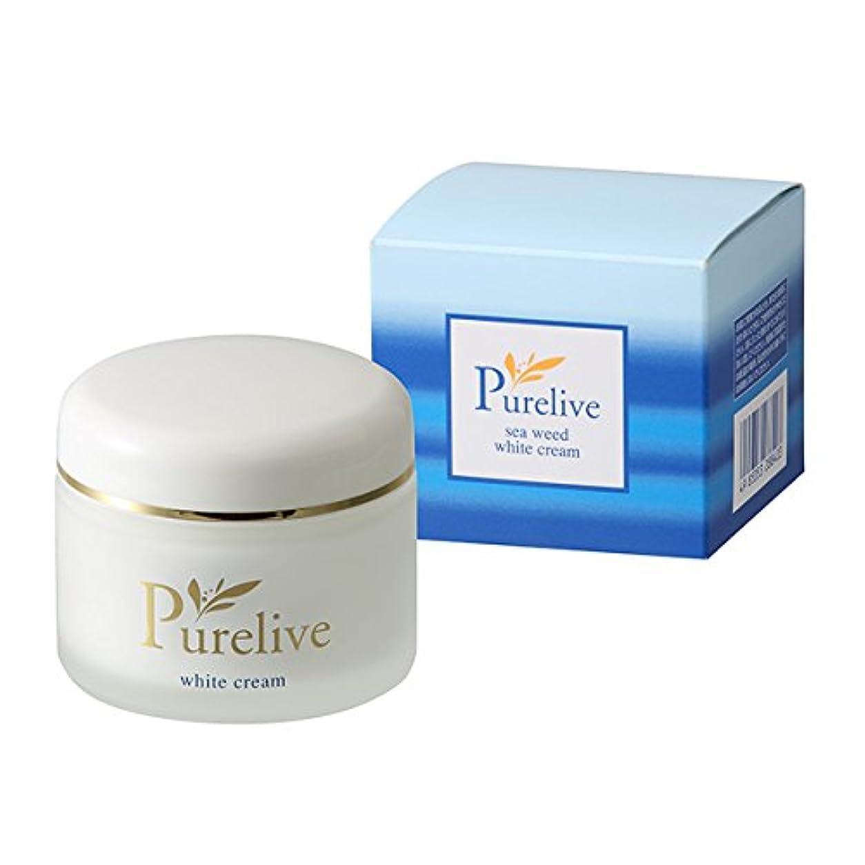 バッテリーコンペ事前[PURELIVE] ホワイト モイスチャークリーム White Moisture Cream‐KH320