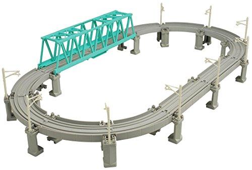 プラレール 高架レールと大鉄橋セット