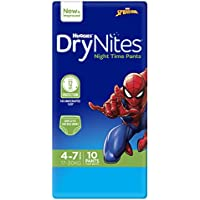 Huggies DryNites Pyjama Pants, Boys, Size 4-7 Years (10 Pack)